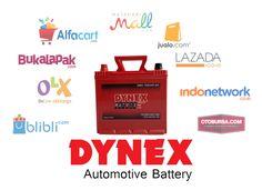 Jual Aki DYNEX produksi EXIDE via online shop   Alfacart https://www.alfacart.com/marketplace/seller/collection/AkiMobilDYNEX  Blibli https://www.blibli.com/brand/dynex  Buka Lapak https://www.bukalapak.com/akidynex  IndoNetwork http://dynex-center.indonetwork.co.id/  Jualo https://www.jualo.com/pengguna/dynex-center  Lazada http://www.lazada.co.id/aki-dynex/  MatahariMall https://www.mataharimall.com/brand/21611/dynex  OLX http://olx.co.id/all-results/user/44Vwl/  Otobursa…
