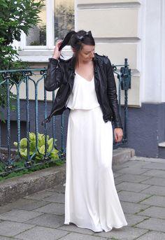 Outfit: Die weißes-Maxikleid-Challenge - amazed