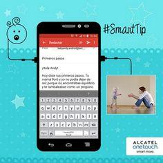 """#SmartTips: Crea una dirección de correo para tu bebé y deposita ahí recuerdos, mensajes, fotos, videos y todo lo que quieras y dale la clave como regalo cuando cumpla 18 años. Es como """"Volver al fututo"""" pero a la inversa, ¡le va a encantar!"""