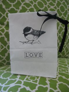 Wedding Favor Paper Bag Kit Set of 50  with by PrinceSnowFarm, $30.00