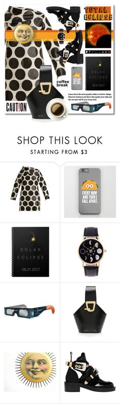 """Total Eclipse of the Heart"" by esch103 ❤ liked on Polyvore featuring Marques'Almeida, Danse Lente, Balenciaga, eclipse and coffeebreak"