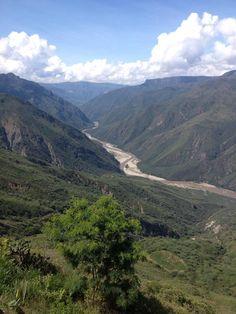 Cañòn del Chicamocha Santander Colombia