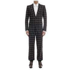 Alexander McQueen - Silk Check Cuff Trouser - I don't like the print, but I love the cut of these pants!