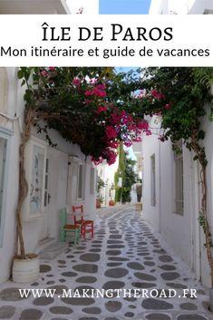 Voici mon guide de voyage à Paros - Une destination de vacances en Grèce dans les Cyclades. Conseils de visites, randonnées plages et restaurants avec le budget du voyage.