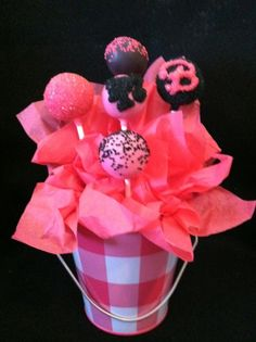 Barbie Cake Pops