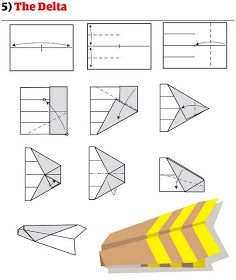 12 Ways To Fold A Paper Plane. How many ways to fold a paper plane have you known? There must be many ways of how to to fold a plane that new to you, please check out below. Paper Airplane Models, Make A Paper Airplane, Paper Planes, Paper Models, 3d Origami, Origami Paper, Origami Models, Modular Origami, Best Paper Plane
