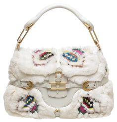 cb62ae219f Jimmy Choo Fur Multicolor Tulita Handbag Hobo Bag. Hobo bags are hot this  season! Tradesy