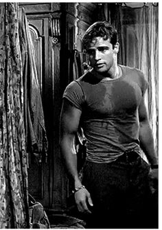 Marlon Brando. Enough said. Most gorgeous man who ever lived.