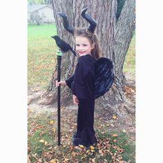 Kids Malificent Costume DIY