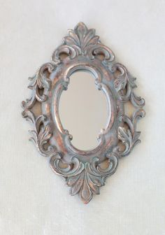 For the small column/wall you see from the entrance.  Baroque Nostalgia Wall Mirror | Modern Vintage Home & Office