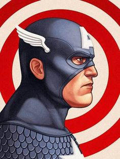 Captain America by Mike Mitchell Mondo Print Avengers Marvel Comics Marvel Avengers, Marvel Comics, Ms Marvel, Arte Dc Comics, Bd Comics, Marvel Heroes, Comic Book Characters, Marvel Characters, Comic Character