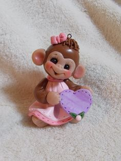 Baby monkey cake toppers!