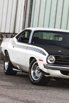 "fullthrottleauto: ""Plymouth 1970 AAR 'Cuda (BS23) (#FTA)"""