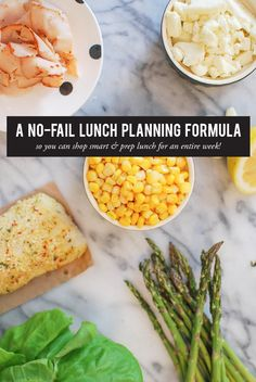 A No-Fail Lunch Planning Formula with 5 Simple Recipes #theeverygirl #food #veggies