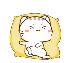 LINE Creators' Stickers - Wen small meow 3 Example with GIF Animation Cute Cartoon Drawings, Cute Cartoon Pictures, Cute Love Cartoons, Cartoon Gifs, Cute Anime Pics, Cute Cartoon Wallpapers, Kawaii Drawings, Cute Love Pictures, Cute Love Gif
