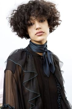 Curly-haired girls, get ready to kiss your straightener goodbye. It's time to embrace your hair's natural texture! The message came loud and clear at the Fall Winter 2016-2017 shows: curls are officia