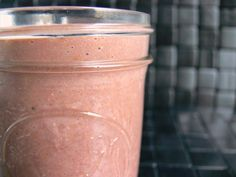 Spiced Pomegranate Smoothie. Diary-free, paleo, vegan.  (I will do lots more greens)     1 cup pomegranate seeds (fresh or frozen)     1/2 cup raspberries (fresh or frozen)     1 ripe banana     1 1/4 cup almond milk     1/4 cup spinach or kale     1/2 teaspoon ground cinnamon     1/8 teaspoon ground cardamom     1/8 teaspoon grated fresh ginger