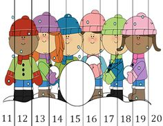 number puzzle freebie