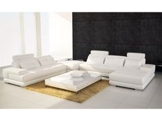 Grey Leather Sofa | Contemporary Gray Leather Sectional Sofa