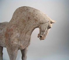 Tang Dynasty Pottery Horse 618-906 A.D.