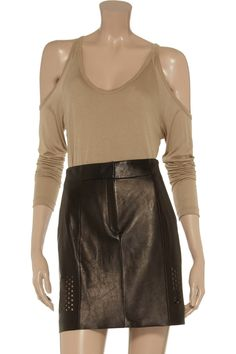 LNA Malta cutout jersey top - 50% Off Now at THE OUTNET