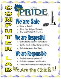 pbis computer lab rules - Google Search