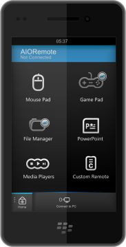 Download AIORemote for BlackBerry and BB10 Devices