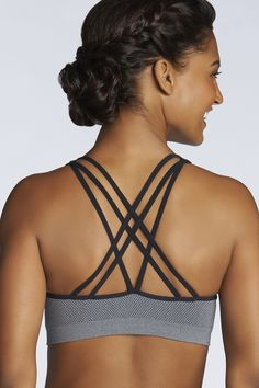 a809db5753 The Vaasa Sports Bra looks beyond chic peeking out of any tee. Vaasa Sports  Bra