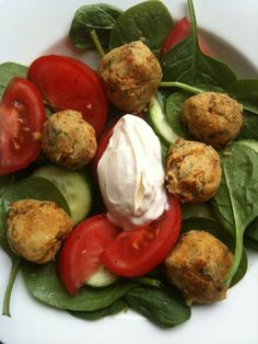 Falafel salad @ Fitness, Food and Style: June 2012