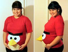 Angry Bird Pregnant Halloween Costume   co