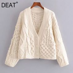 Open Front Cardigan, Sweater Fashion, Cardigans For Women, Knit Cardigan, Sleeve Styles, Color Blocking, Knit Crochet, Clothes For Women, Knitting