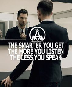 We have two ears and one mouth so we should listen more than we say Tag a friend Keep your mindset strong @ambitionmindset @millionxclub Join the community #ambitionmindset