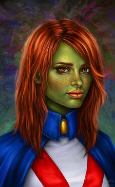 Young Justice: Miss Martian by ~belldandy105