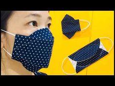NOUVEAU CHAUD !!! Motif de masque 3D amélioré avec filtres, couture facile, taille réelle! - YouTube