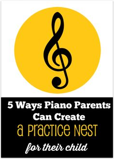 This is perhaps the most important conversation to have with new piano parents and could make all the difference in your students' home practice