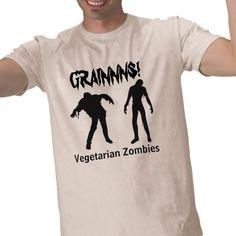 $26.45 - Vegetarian Zombies Shirt