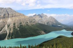 Peyto Lake, Banff National Park. Alberta, Canada