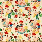 Michael Miller Retro Candy Shop Cream Fabric By The Yard