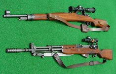 Yugoslavia Civil War, 1990-1995: Sniper rifles were used extensively during the war: Mauser M48 (top) and M59/66 SKS.