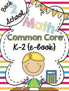 FREE ebook from top sellers at TPT: Common Core Math! Each page includes a Common Core tip and a freebie - so many amazing resources in one place!!