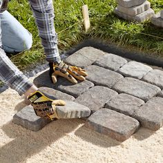 Install Pavers: Example Calculations For Space And Materials.