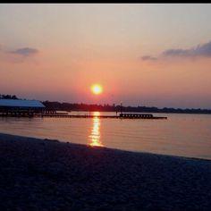 White Lake, NC always an amazing sunset.