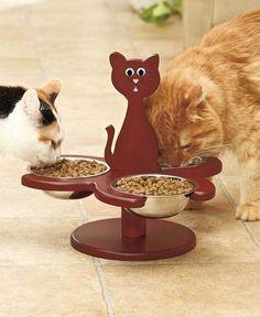 1000+ ideas about Cat Bowl on Pinterest | Pet Feeder, Pet Bowls ...