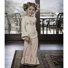 Persnickety Pretty in Pink Bell Pant - Pink - Addy's Closet