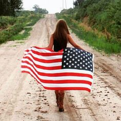 All American Girl, American Women, Happy4th Of July, Red White Blue, Outdoor Blanket, Instagram Posts