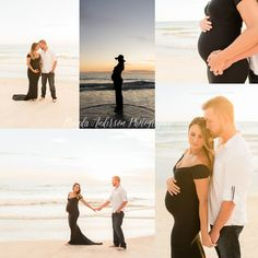 Sunset Beach Maternity Photo Session https://www.facebook.com/brenda.anderson.photography/ http://www.brendaandersonphotography.com/