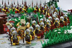 The Parade Ground (Macsen Wledig) Tags: rome history lego roman hadrianswall britannia moc romanbritain Lego Knights, Lego Army, Lego Pictures, Lego Minifigs, All Lego, Lego Castle, Cool Lego Creations, Lego Worlds, Lego Models