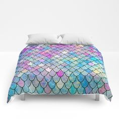 Buy mermaid scales Comforters by vitag. Worldwide shipping available at Society6.com. Just one of millions of high quality products available.