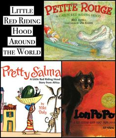 Multicultural Little Red Riding Hood around the world- 3 versions of this classic fairytale. Read and compare them across cultures with these post-reading discussion ideas. Cross-cultural, comparative literature for kids and elementary school students. Red Riding Hood Story, Kids Around The World, Reading Stories, Fiction And Nonfiction, Compare And Contrast, Chapter Books, Book Themes, Romance Novels, Little Red
