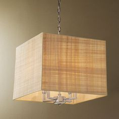 Papyrus Square Shade Chandelier